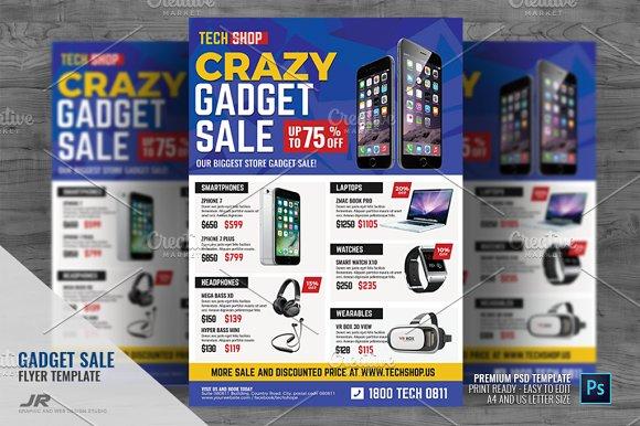 Gadget Sale Promotional Flyer