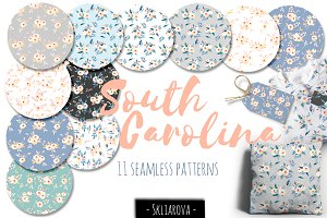 """South Carolina"". 11 patterns."