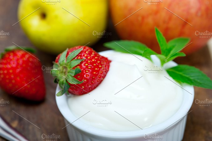 fresh fruits and organic yogurt 013.jpg - Food & Drink