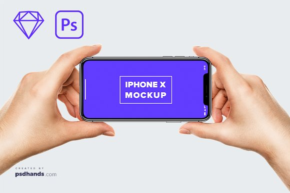 IPhone In Male Hand Mockup 8
