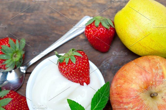 fresh fruits and organic yogurt 018.jpg - Food & Drink