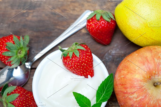 fresh fruits and organic yogurt 019.jpg - Food & Drink