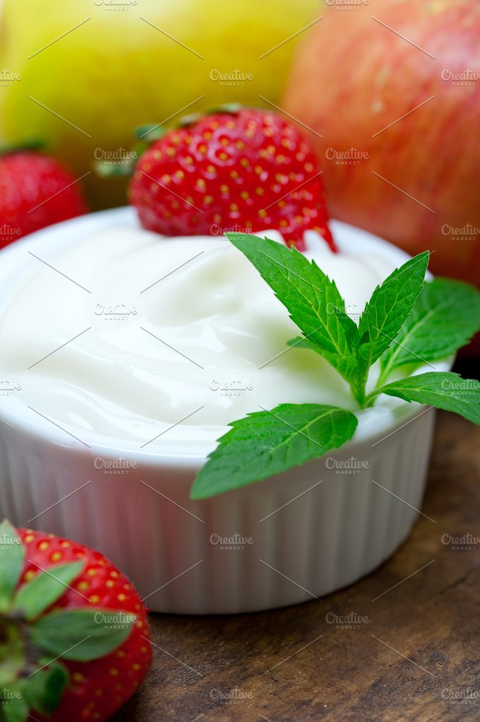 fresh fruits and organic yogurt 024.jpg - Food & Drink