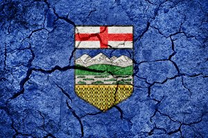 Alberta, province of Canada, flag