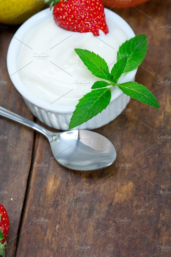fresh fruits and organic yogurt 031.jpg - Food & Drink