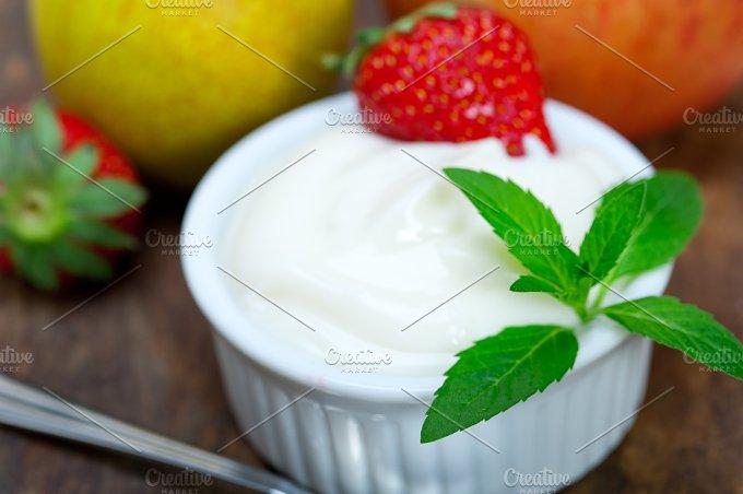 fresh fruits and organic yogurt 033.jpg - Food & Drink