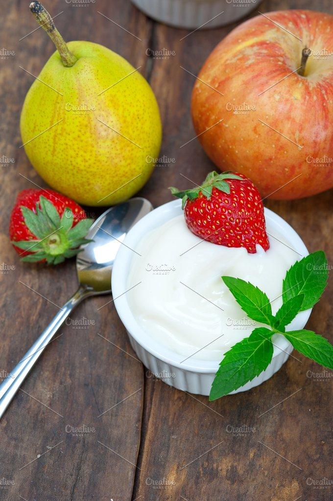 fresh fruits and organic yogurt 037.jpg - Food & Drink