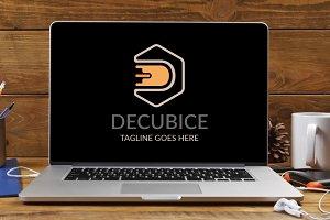Decubice Letter D Logo