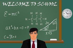 Teacher, US classroom, gun control