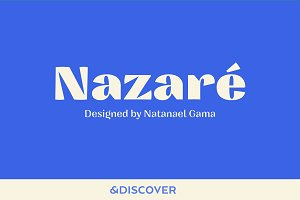 Nazare Font Family – 30% Off