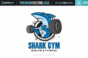 Shark Gym Logo
