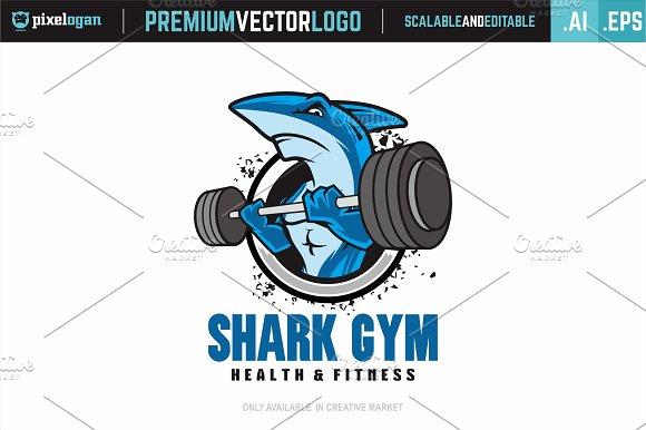 Shark Gym Logo