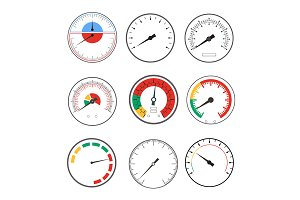 Manometer Temperature Gauge Devices