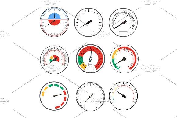 Manometer Temperature Gauge Devices