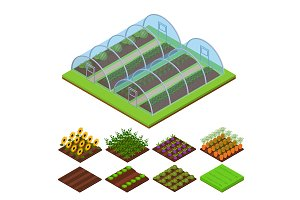 Greenhouse Isometric View