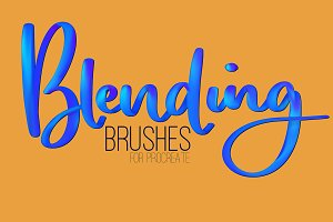 Blending Brushes for Procreate