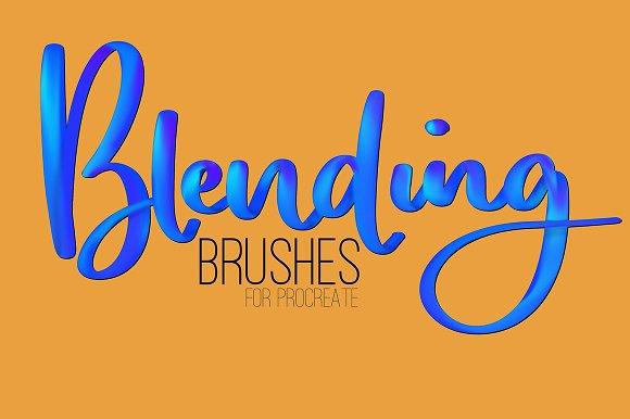 Blending Brushes For Procreate