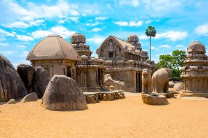 architecture Pancha Rathas - Five