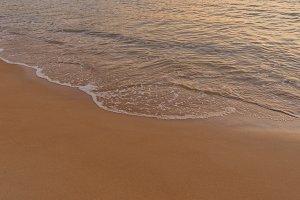 The calm seashore