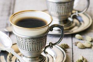 Turkish Coffee with Cardamom