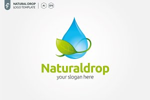 Natural Drop Logo