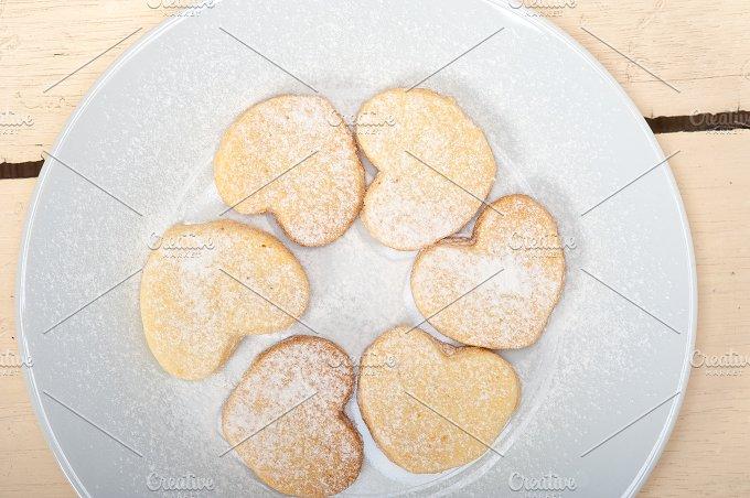 heart shaped cookies 005.jpg - Food & Drink