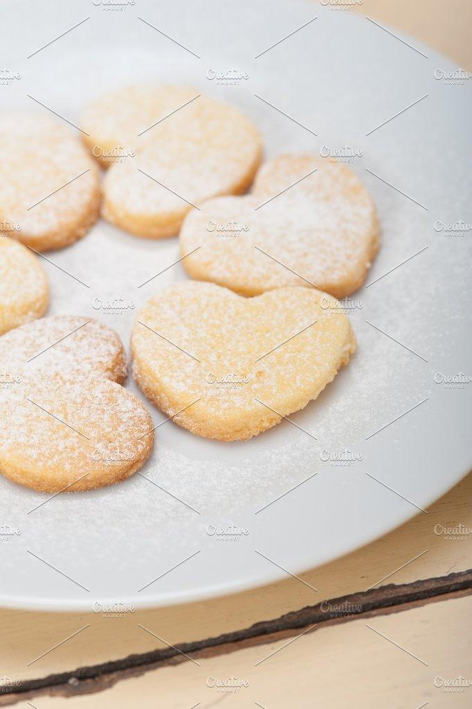 heart shaped cookies 006.jpg - Food & Drink