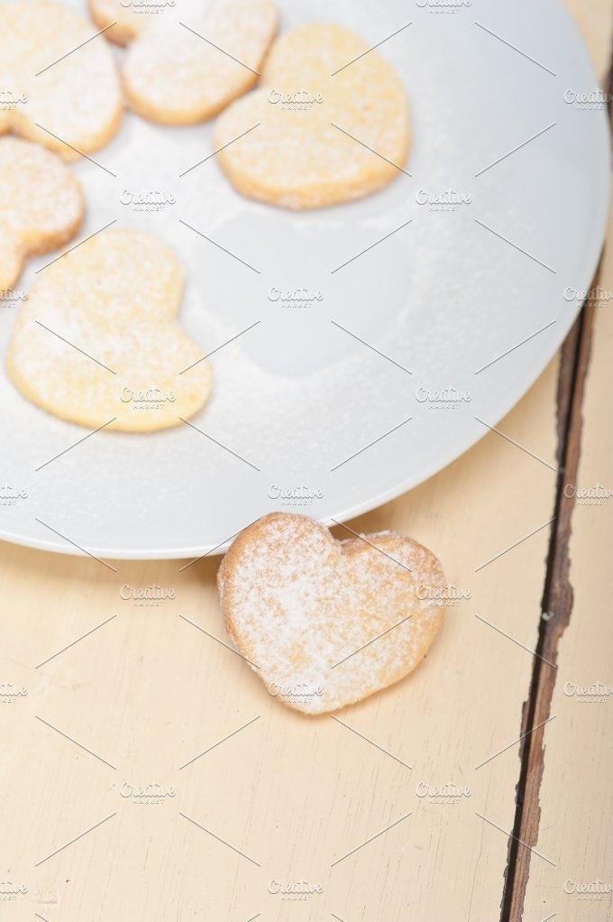 heart shaped cookies 007.jpg - Food & Drink