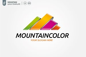 Mountain Color Logo