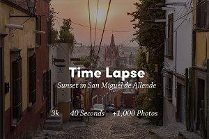 Timelapse of San Miguel de Allende