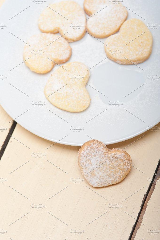 heart shaped cookies 012.jpg - Food & Drink