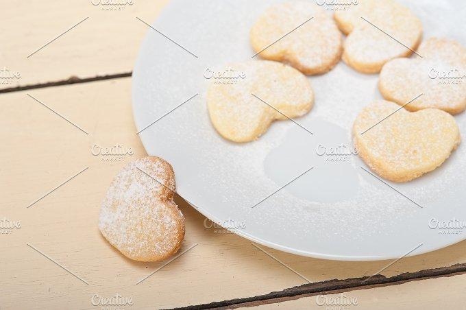heart shaped cookies 014.jpg - Food & Drink