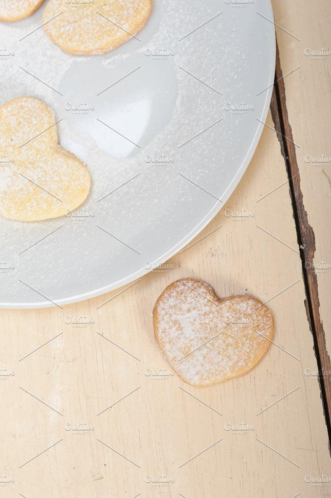 heart shaped cookies 016.jpg - Food & Drink