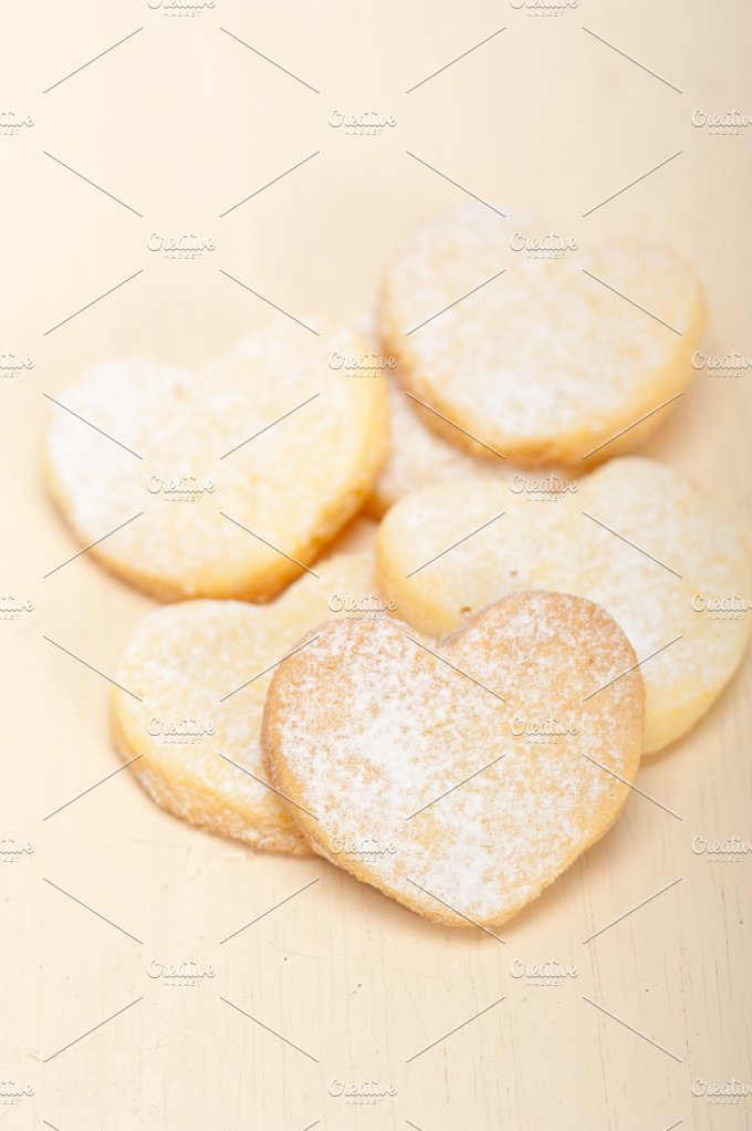heart shaped cookies 020.jpg - Food & Drink