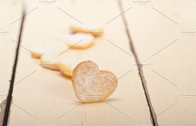 heart shaped cookies 025.jpg - Food & Drink