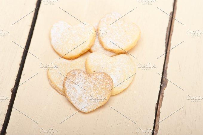 heart shaped cookies 024.jpg - Food & Drink