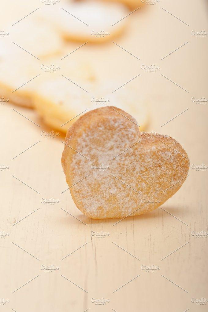 heart shaped cookies 026.jpg - Food & Drink