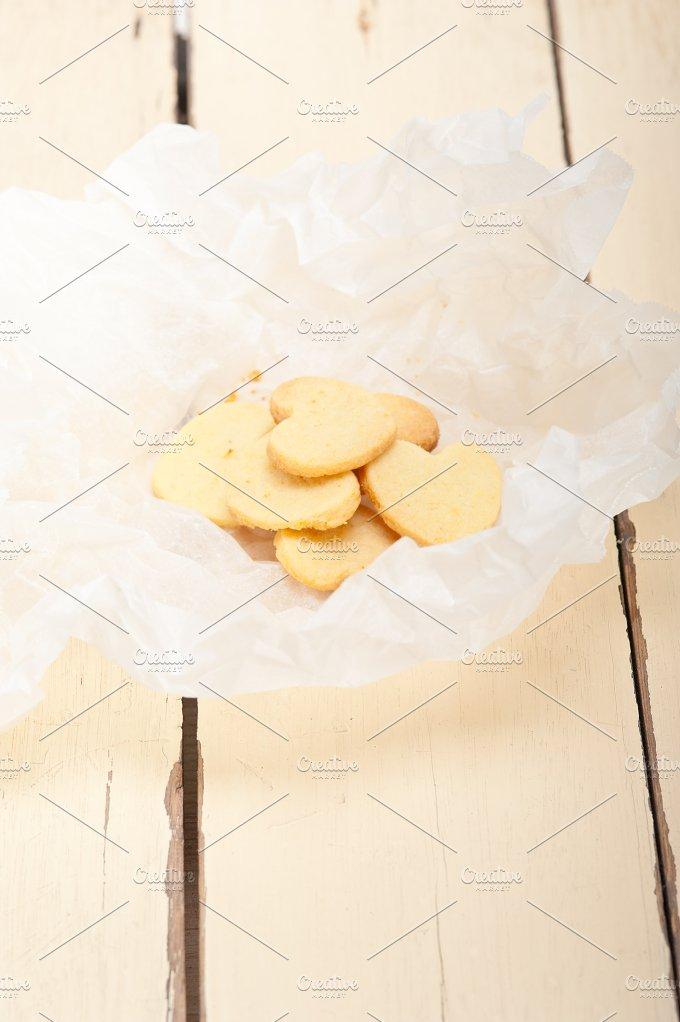 heart shaped shortbread cookies 001.jpg - Food & Drink