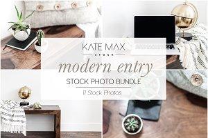 Modern Entry Stock Photo Bundle