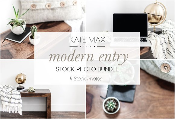 Modern Entry Stock Photo Bundle