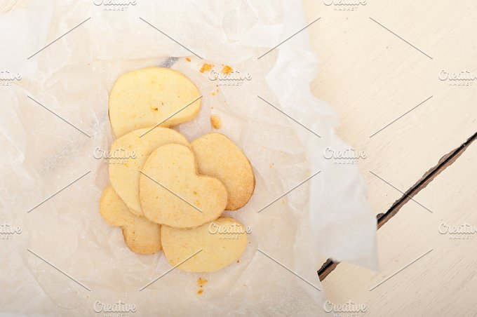 heart shaped shortbread cookies 004.jpg - Food & Drink
