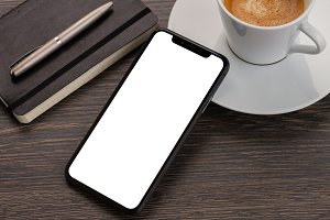 Modern phone layout