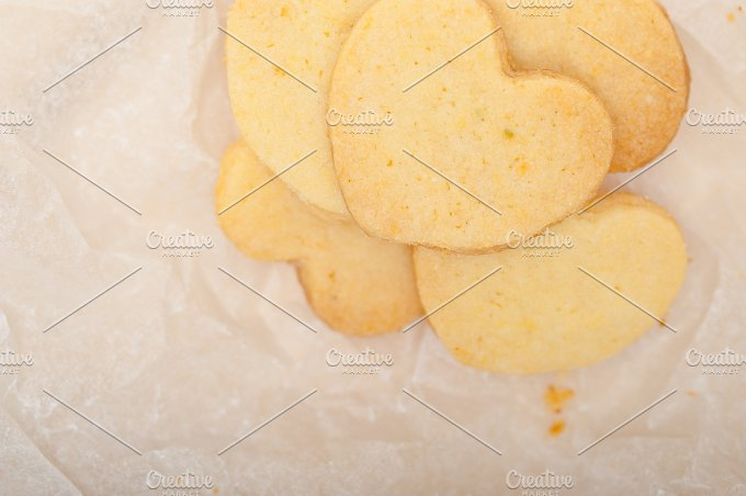 heart shaped shortbread cookies 010.jpg - Food & Drink