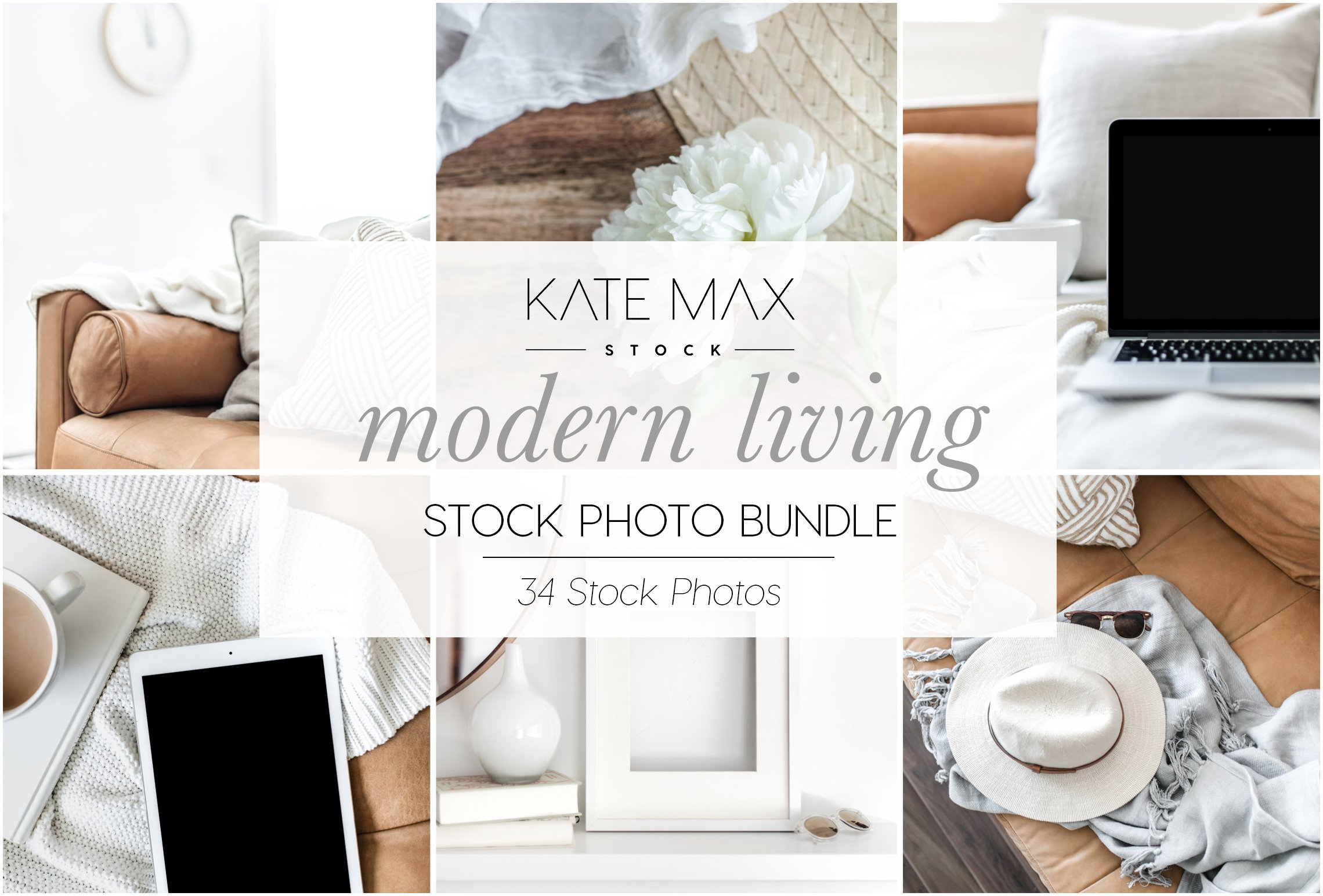 Modern Living Stock Photo Bundle ~ Product Mockups ~ Creative Market
