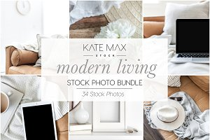 Modern Living Stock Photo Bundle