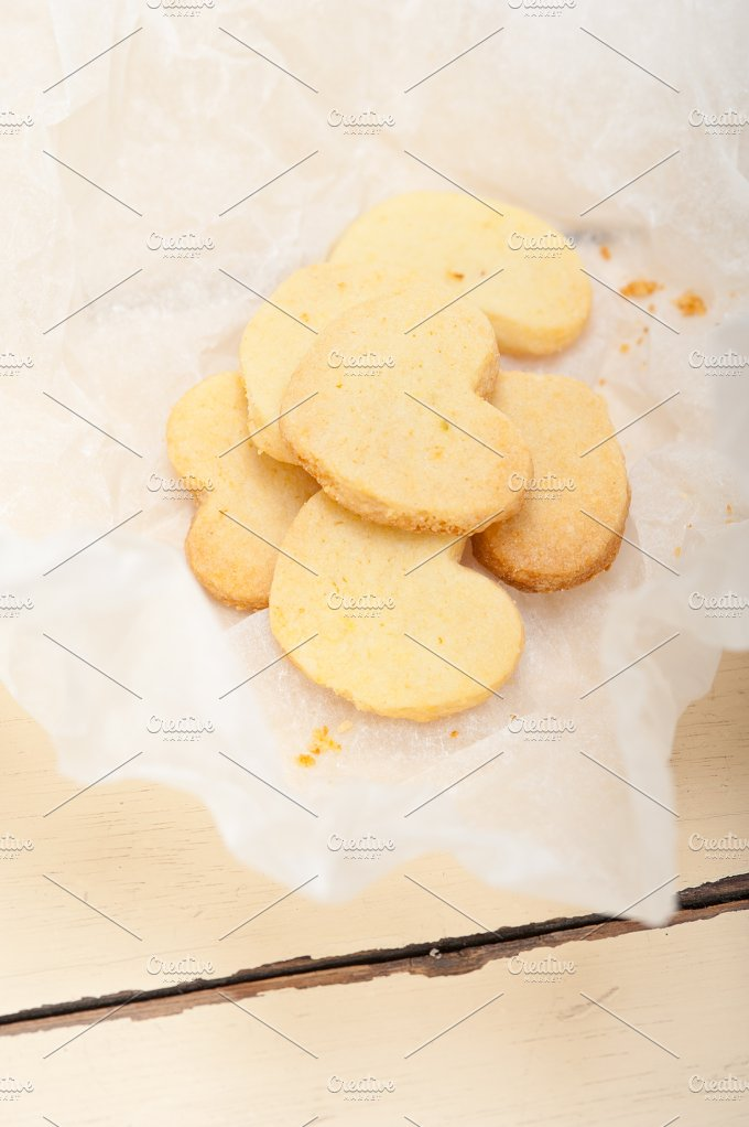 heart shaped shortbread cookies 011.jpg - Food & Drink