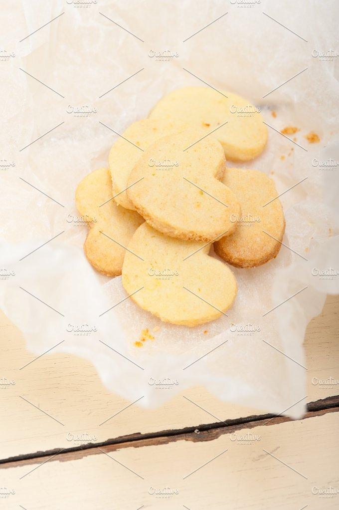 heart shaped shortbread cookies 011.jpg - Food & Drink
