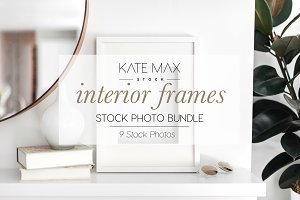 Interior Frames Stock Photo Bundle
