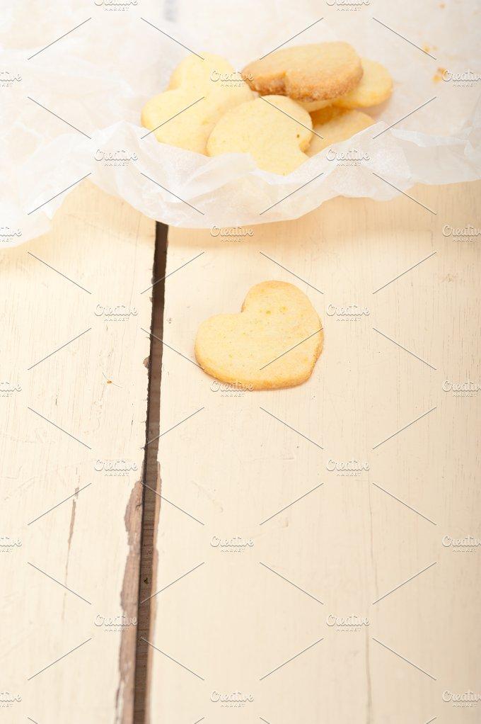 heart shaped shortbread cookies 016.jpg - Food & Drink