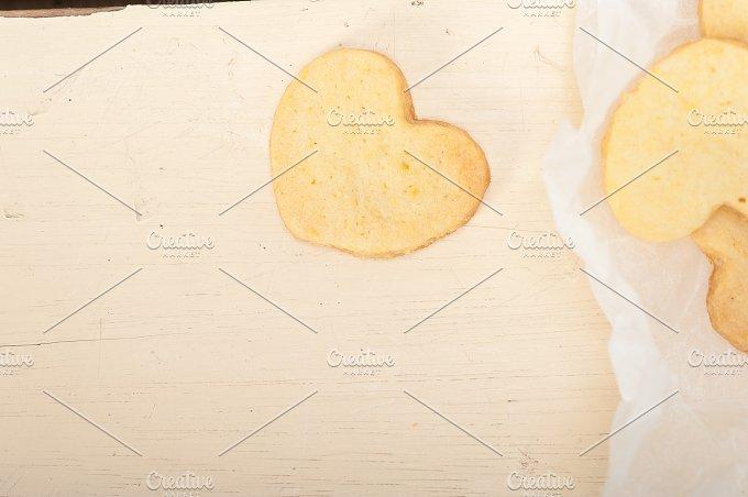 heart shaped shortbread cookies 018.jpg - Food & Drink